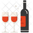 Love Drink Wine Drink Icon