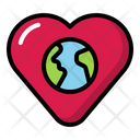 Love Earth Earth Love Icon