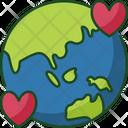 Love Earth Love Planet Icon