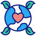 Love Earth Icon