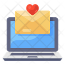 Love Letter Love Mail Love Greeting Icon