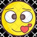 Love Emoji Love Expression Emotag Icon