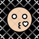 Love Smiley Face Icon