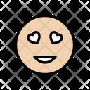 Smiley Heart Emoji Icon