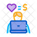 Love Equals Money Icon