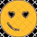 Love Eye Icon