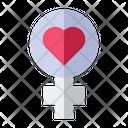 Love Female Icon