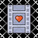 Heart Love Reel Icon