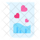 Love Flask Flask Heart Icon