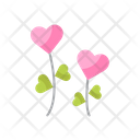 Love Flower Icon