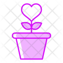 Flower Grow Love Icon