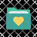 Folder Romance Archive Icon