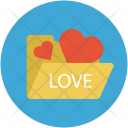 Love Folder Hearts Icon