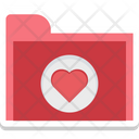 Love Folder Favorite Icon