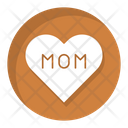 Love Mom Mothers Day Feelings Icon