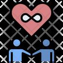 Couple Infinity Love Eternal Icon