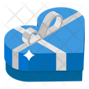 Heart Gift Surprise Wrapped Gift Icon