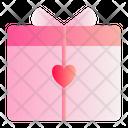 Gift Love Romance Icon