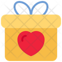 Gift Gift Box Love Icon