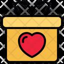 Gift Gift Box Love Icon