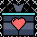Gift Tribute Box Icon