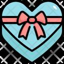 Heart Box Gift Icon