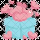 Heart Box Present Icon