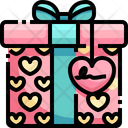 Love Gift Valentine Gift Gift Box Icon