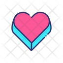 Love Gift Box Icon