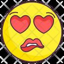 Love Greedy Emoji Love Greedy Expression Emotag Icon