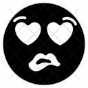 Love Greedy Emoji Icon