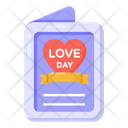 Greeting Card Wishing Card Love Greeting Card Icon