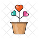 Heart Love Growth Icon
