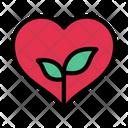 Love Growth Heart Icon