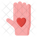 Love Hand Icon