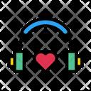 Love Headphone Icon