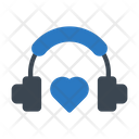 Love Headphone Icon