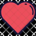 Love Heart Heart Beat February Icon