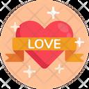 Love Heart Romantic Heart Icon