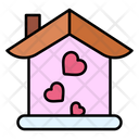 Love Home Home House Icon