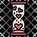 Love Hourglass Romance Icon