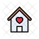 Love House Family Icon