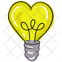 Love Idea Romantic Idea Love Light Icon