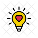 Love Light Valentine Icon
