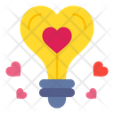 Ideas Love Heart Icon