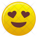 Look Happy Love Icon