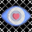 Love In Eye Icon