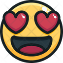 Love in eyes Icon