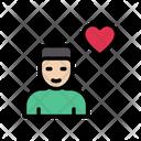 Love Man Heart Icon