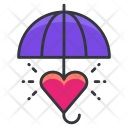 Love in rain Icon